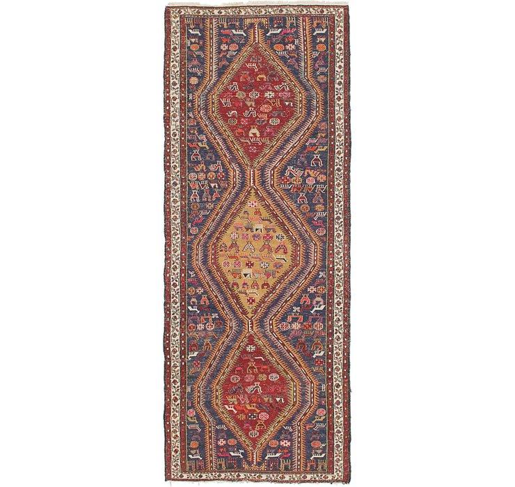 3' 6 x 9' 8 Sirjan Persian Runner Rug