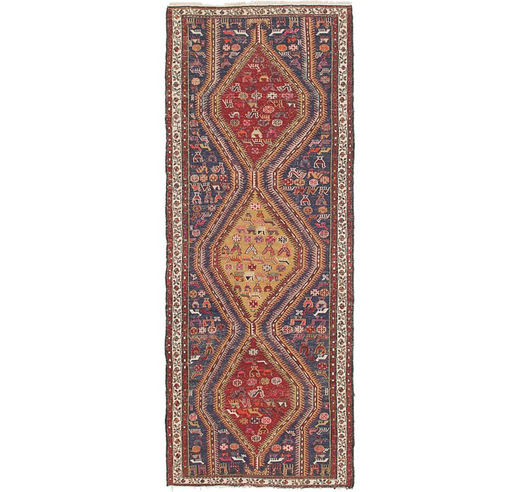 107cm x 295cm Sirjan Persian Runner Rug