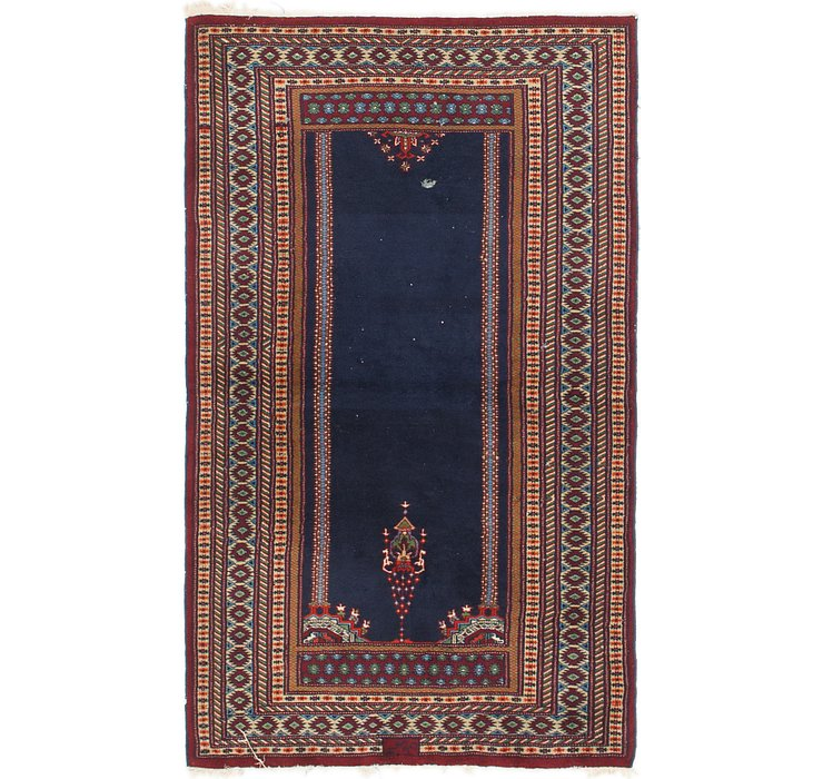 3' x 5' Lahour Oriental Rug