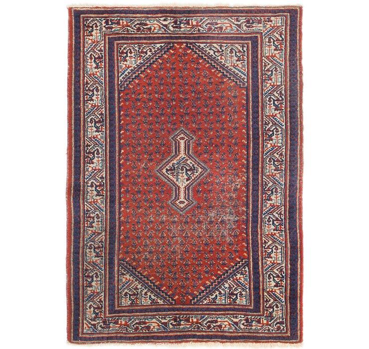 3' 4 x 4' 10 Botemir Persian Rug