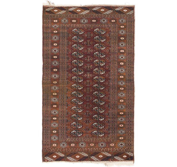 97cm x 165cm Bokhara Oriental Rug