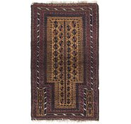 Link to 3' x 6' 2 Balouch Persian Runner Rug