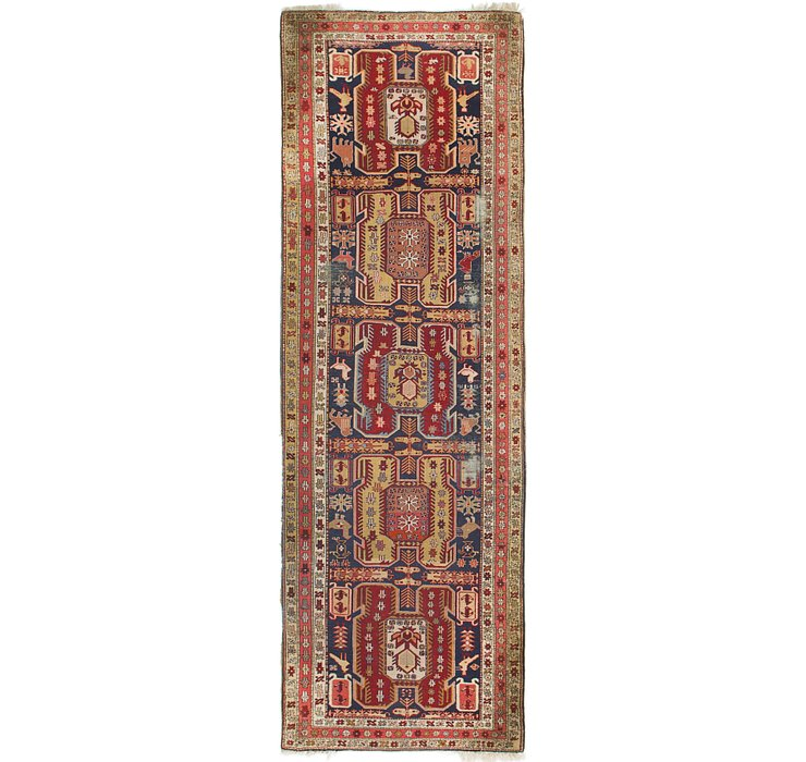 3' 5 x 10' 4 Ardabil Persian Runner ...