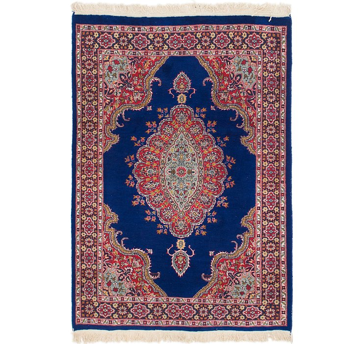 4' 3 x 6' 2 Kerman Oriental Rug