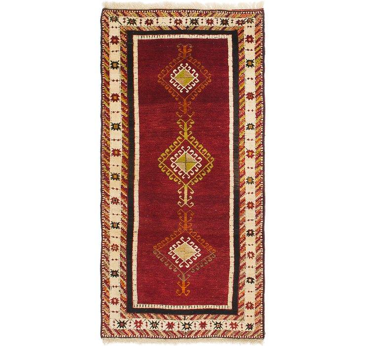 3' 3 x 6' 4 Kars Oriental Rug
