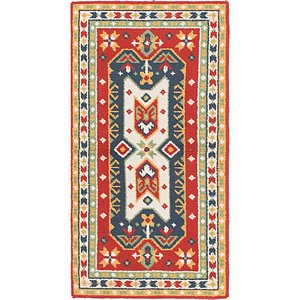 Unique Loom 3' x 6' Moroccan Rug