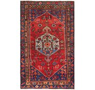 Link to 3' 6 x 6' 4 Hamedan Persian Rug