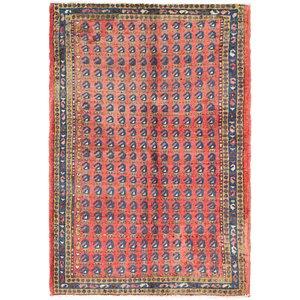3' 7 x 5' 4 Farahan Persian Rug