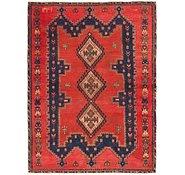 Link to 4' 2 x 5' 9 Hamedan Persian Rug