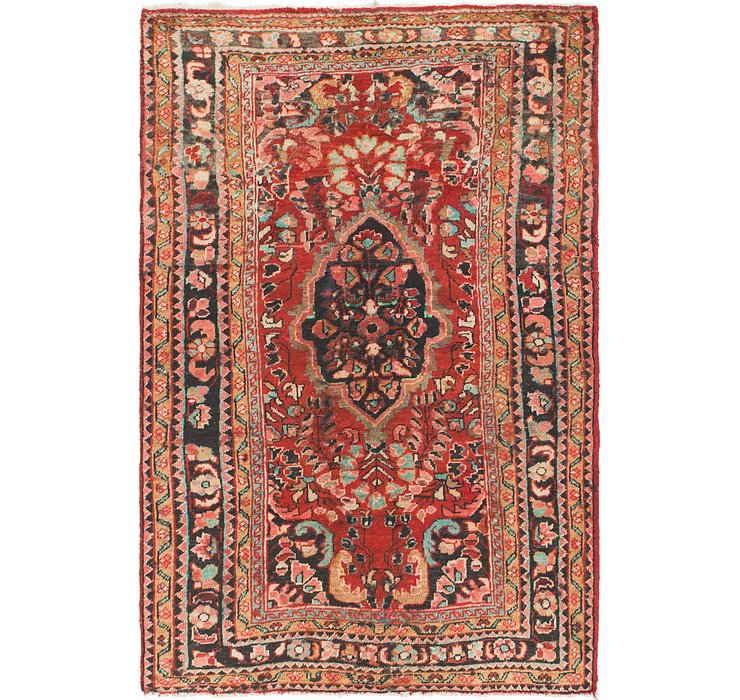 3' 10 x 6' Hamedan Persian Rug