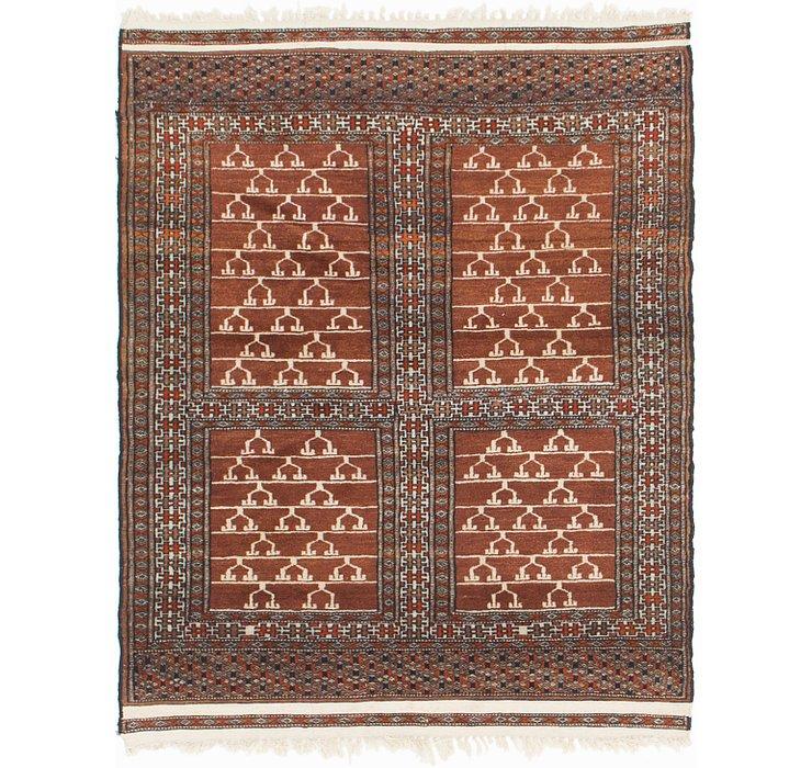 3' 3 x 4' Bokhara Oriental Rug