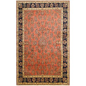 12' 9 x 20' 7 Sarough Persian Rug