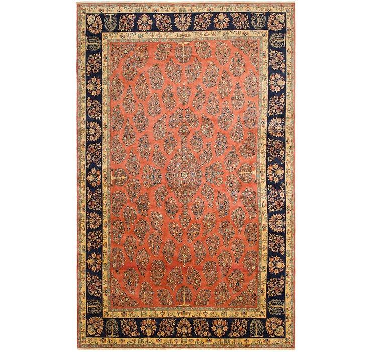 390cm x 627cm Sarough Persian Rug