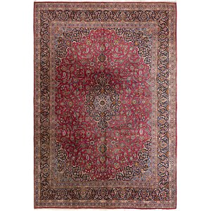 HandKnotted 11' 4 x 16' 8 Kashan Persian Rug