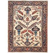 Link to 8' 9 x 11' 2 Heriz Persian Rug
