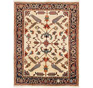 Link to 8' 5 x 11' Heriz Persian Rug