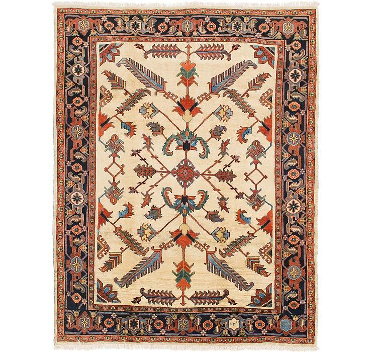 8' 5 x 11' Heriz Persian Rug