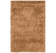 Link to 4' 2 x 5' 2 Luxe Solid Shag Rug