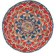 Link to 4' x 4' 2 Kazak Round Rug