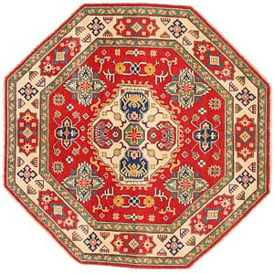 Unique Loom 5' 7 x 5' 7 Kazak Octagon Rug