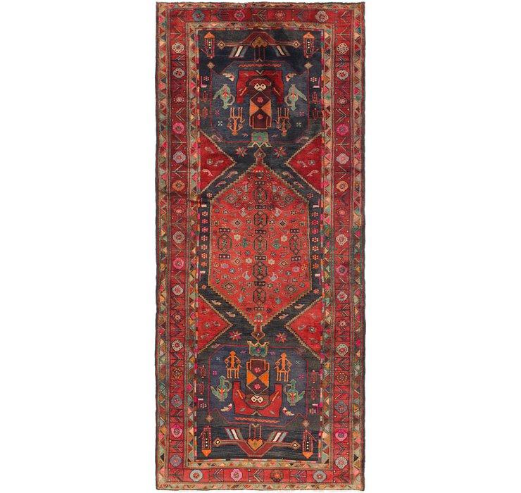 4' 5 x 10' 3 Zanjan Persian Runner Rug