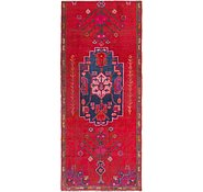 Link to 3' 6 x 8' Hamedan Persian Runner Rug