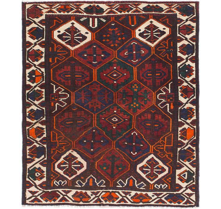 147cm x 170cm Bakhtiar Persian Rug