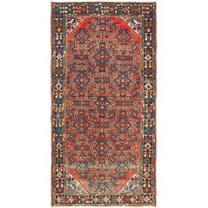 3' 6 x 7' Hossainabad Persian Rug
