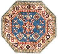 Link to 3' x 3' Kazak Octagon Rug