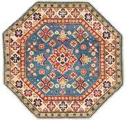Link to 3' 4 x 3' 4 Kazak Octagon Rug