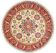 Link to 3' 3 x 3' 3 Kazak Round Rug