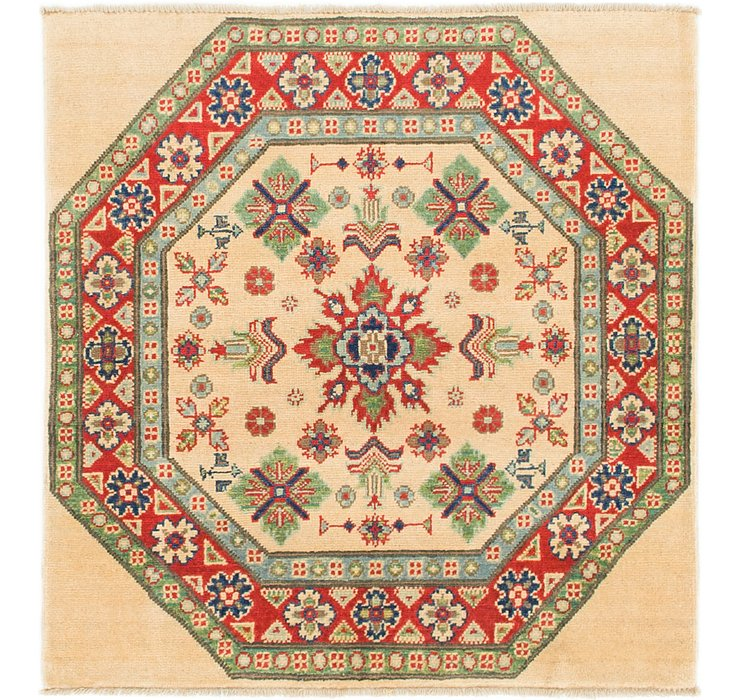 3' 2 x 3' 4 Kazak Square Rug