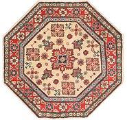 Link to 3' 3 x 3' 4 Kazak Octagon Rug