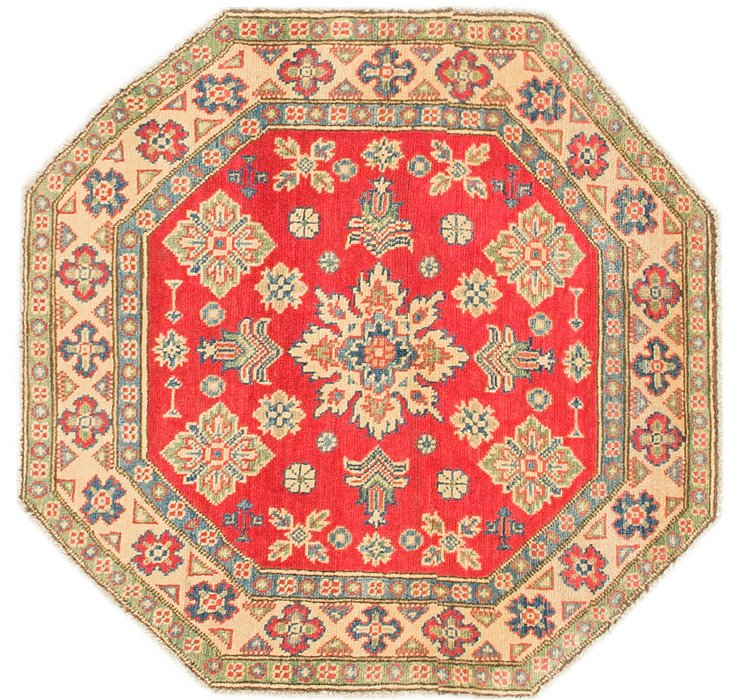 97cm x 97cm Kazak Octagon Rug
