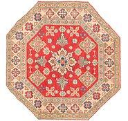 Link to 100cm x 102cm Kazak Octagon Rug
