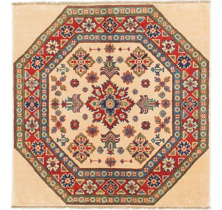 3' 3 x 3' 4 Kazak Square Rug