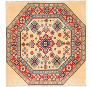 Link to 3' x 3' 3 Kazak Square Rug