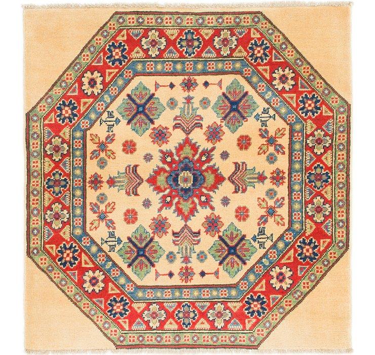 3' x 3' 3 Kazak Square Rug