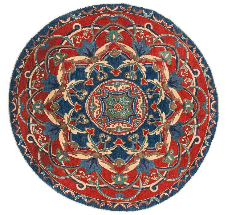 6' 6 x 6' 8 Kazak Round Rug