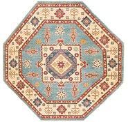 Link to 193cm x 198cm Kazak Octagon Rug
