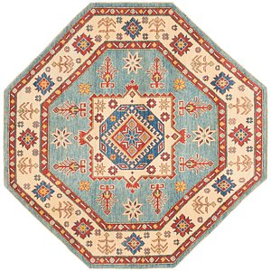 Unique Loom 6' 4 x 6' 6 Kazak Octagon Rug