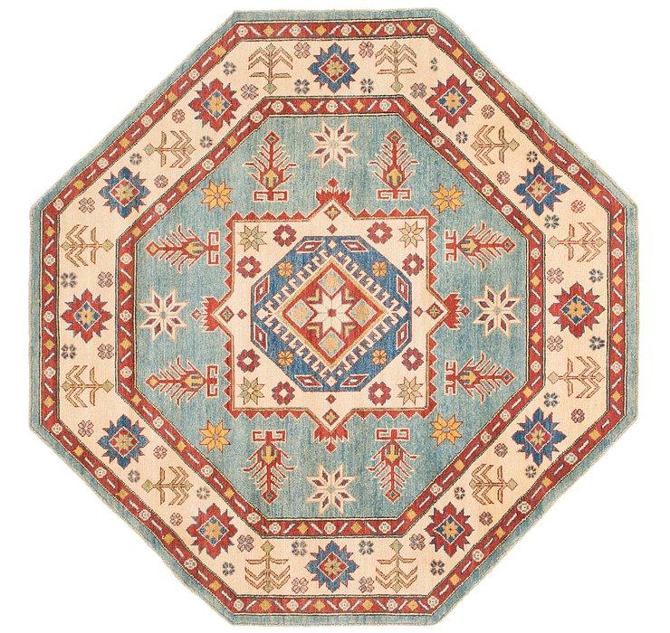 6' 4 x 6' 5 Kazak Octagon Rug
