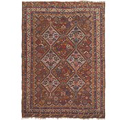 Link to 4' 6 x 6' 2 Shiraz Persian Rug