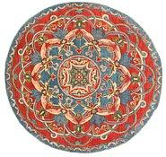 Link to 6' 3 x 6' 5 Kazak Round Rug