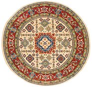 Link to 7' 9 x 8' Kazak Round Rug