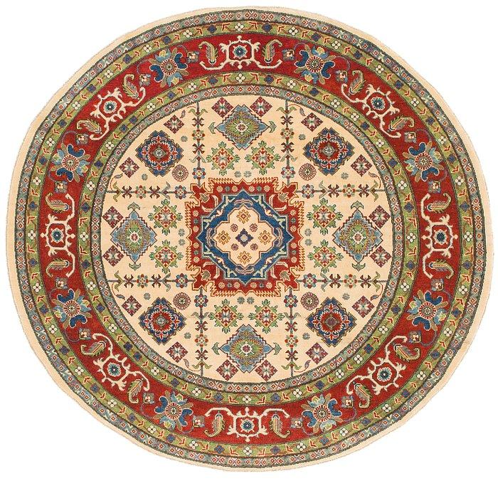 7' 9 x 8' Kazak Round Rug