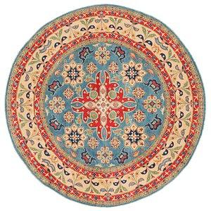 7' 9 x 7' 10 Kazak Round Rug