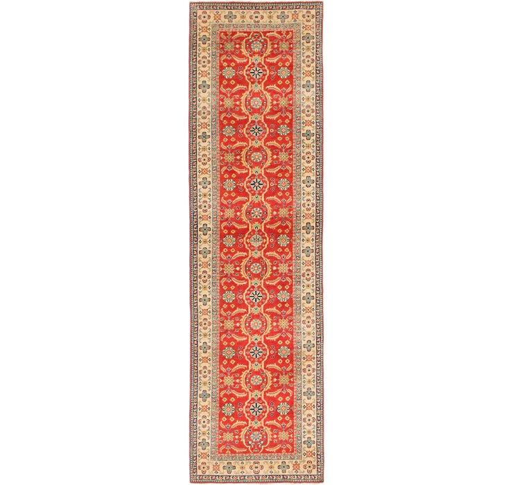 2' 9 x 10' Kazak Runner Rug