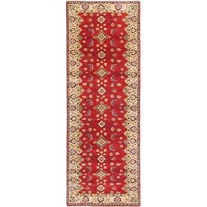 Link to 3' x 8' 3 Kazak Runner Rug item page