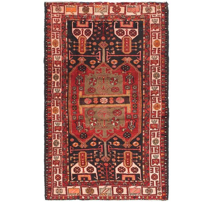 4' 5 x 7' Khamseh Persian Rug